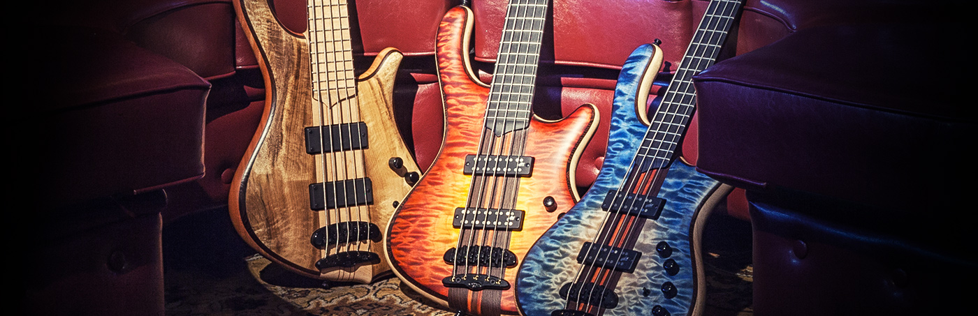 Mayones Bolt-On & Neck Through Body Basses