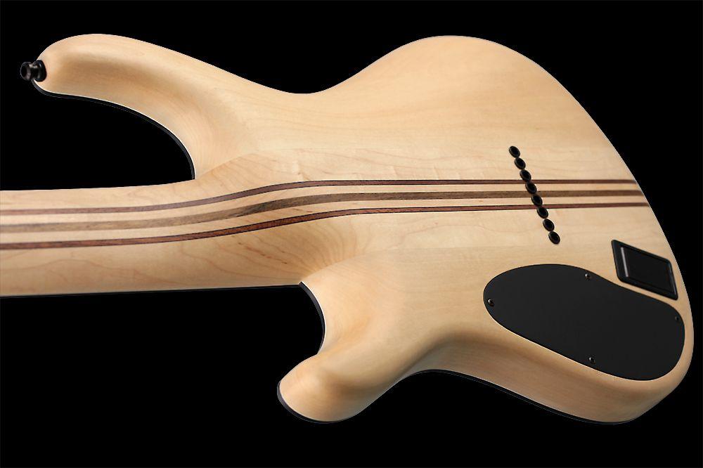 Mayones Regius 8 TA Piezo Buckeye Burl - Master Builder Collection 2012 - slim contoured body, neck-thru-body construction