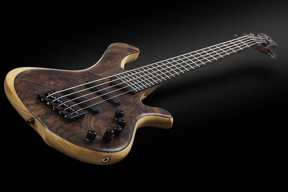 Mayones BE 5 Elite Walnut Claro - Master Builder Collection 2015