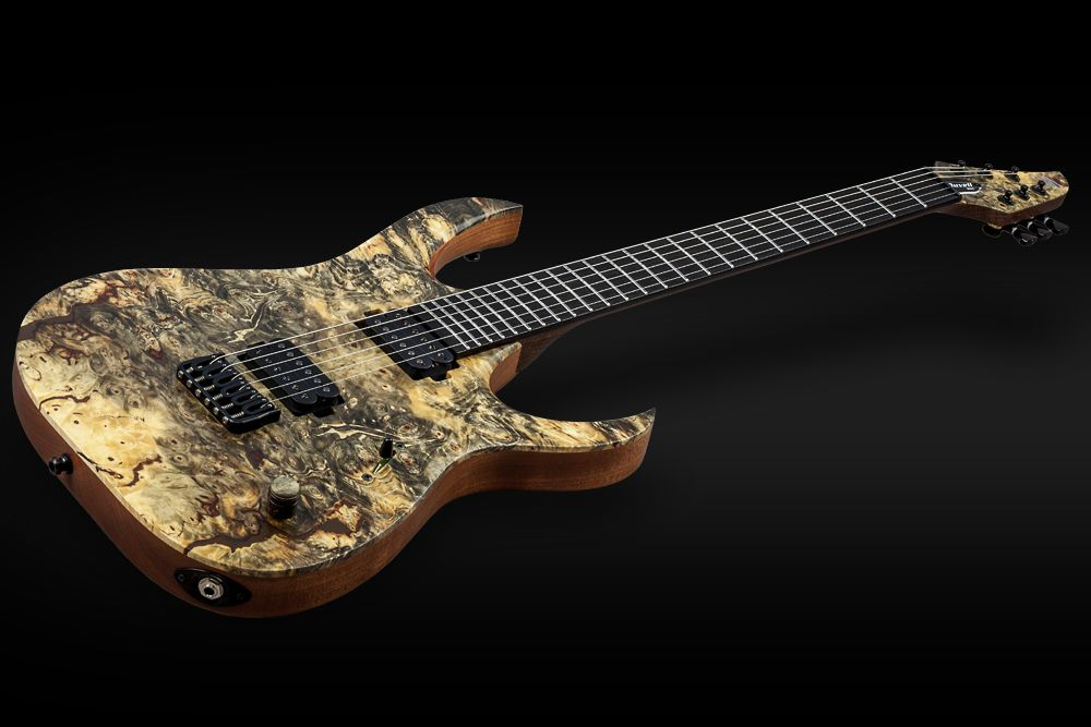 Mayones Duvell 6 Buckeye Burl - Master Builder Collection 2016