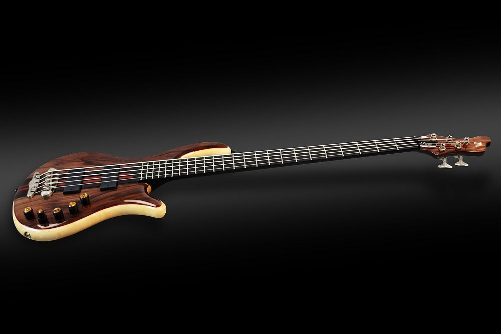 Mayones Patriot 5 Custom Walnut Claro - Master Builder Collection 2013