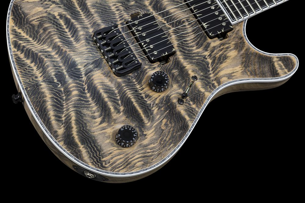 Mayones Regius 6 Douglas Fir - Master Builder Collection 2015 - Volume and Tone control, 3-way lever switch, Speed type knobs