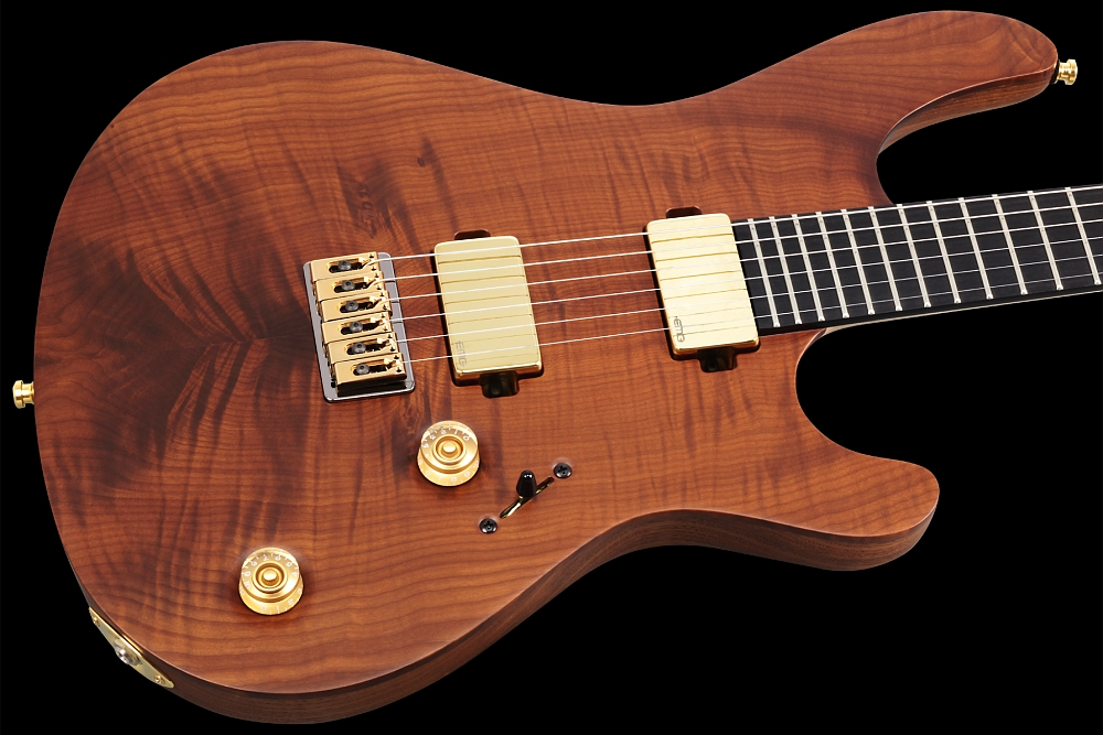 Mayones Regius 6 Flamed Maple T.E.W. - Master Builder Collection 2014 - Flamed Maple T.E.W. top, Swamp Ash T.E.W. body wings, Ebony fingerboard