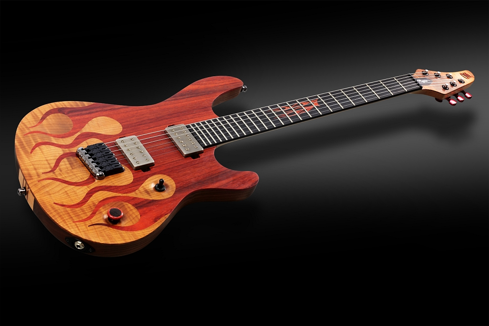 Mayones Regius 6 Flames - Master Builder Collection 2014