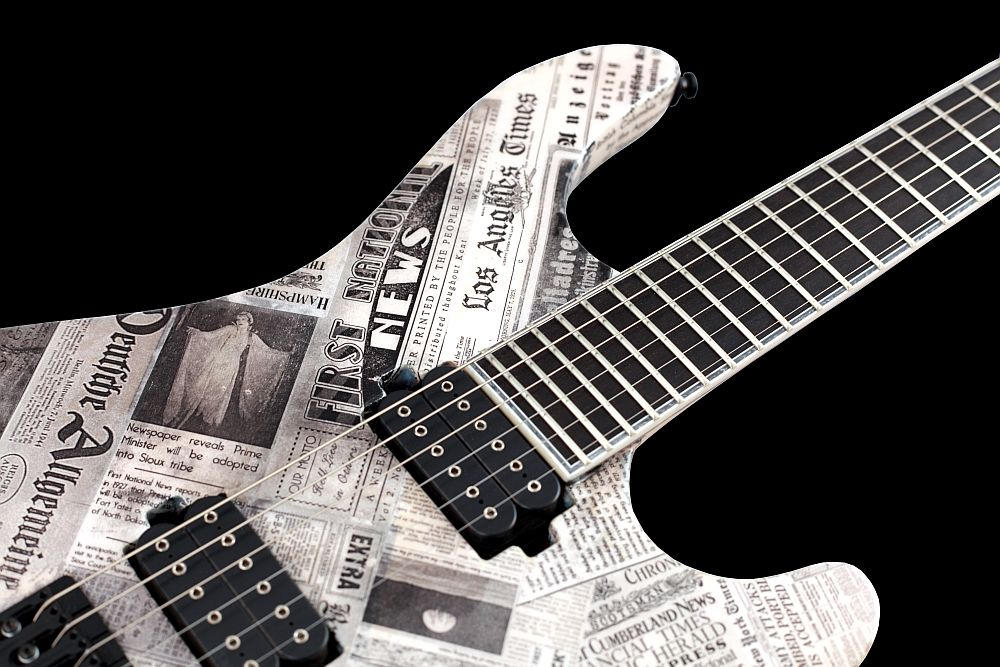Mayones Regius 6 Paper - Master Builder Collection 2011 - Ebony fingerboard