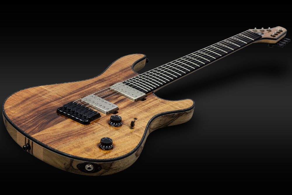 Mayones Regius 7 Koa Figured - Master Builder Collection 2015