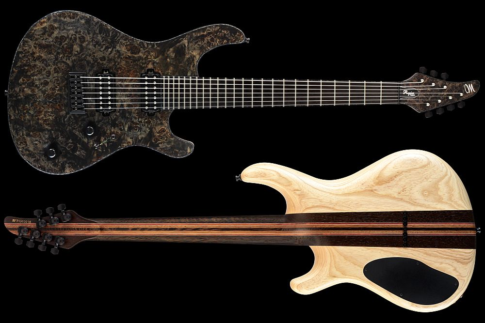 Mayones Regius 7 Pepper - Master Builder Collection 2012 - front & back