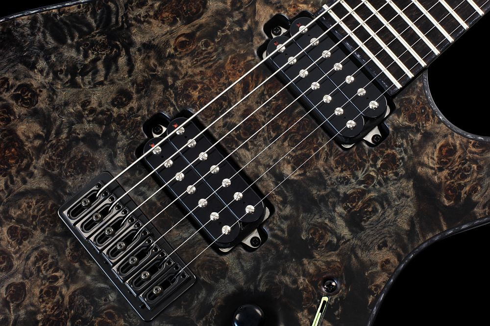 Mayones Regius 7 Pepper - Master Builder Collection 2012 - Bare Knuckle Pickups Aftermath Set