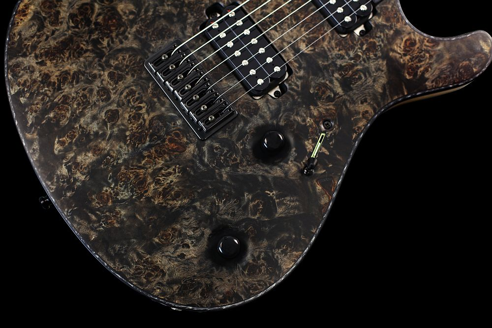 Mayones Regius 7 Pepper - Master Builder Collection 2012 - Volume (push-pull) and Tone control, 3-way lever switch