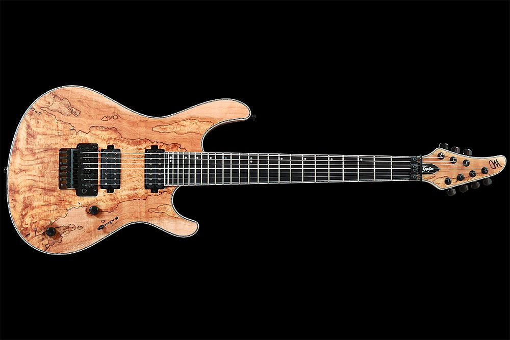 Regius Pro Spalted Maple 7 • Mayones Guitars & Basses