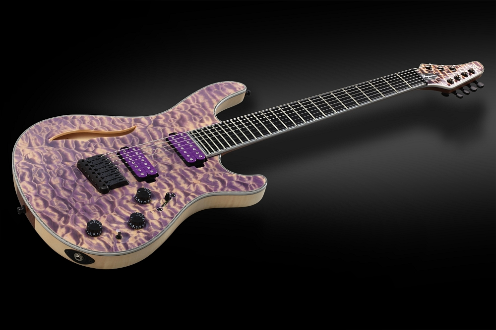 Mayones Regius 7 Quilted Maple Semi-Hollow - Master Builder Collection 2014