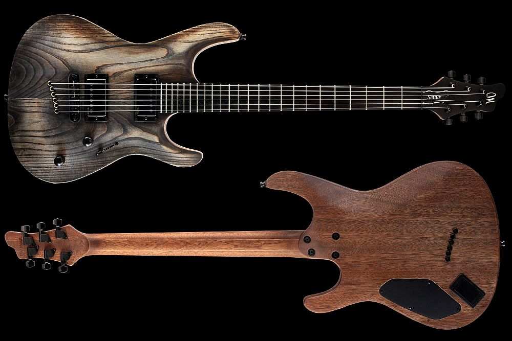 Mayones Setius 6 GTM Antique Oil - Master Builder Collection 2013 - front & back