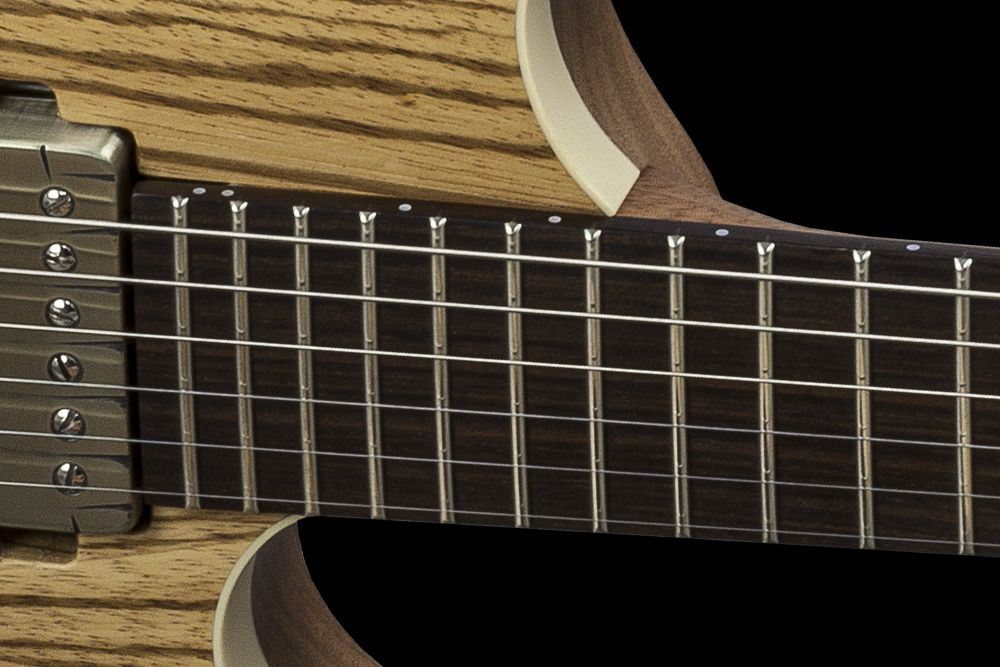 Mayones Setius 6 GTM Zebrawood - Master Builder Collection 2016 - Rosewood fingerboard, no binding, Ferd Wagner 24 jumbo 18% Nickel-Silver Hard frets