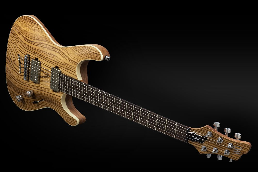 Mayones Setius 6 GTM Zebrawood - Master Builder Collection 2016