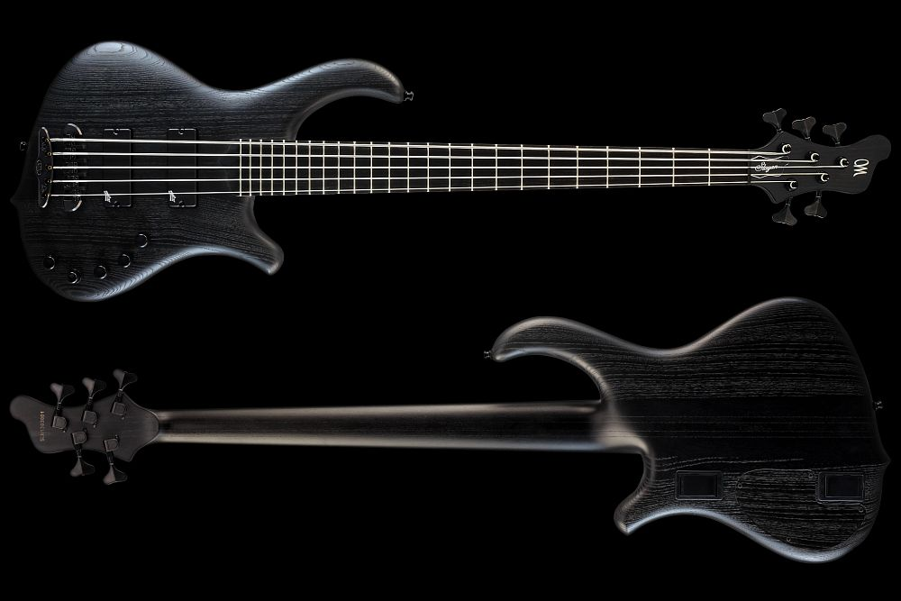 Mayones Slogan 5 Gothic- Master Builder Collection 2013 - front & back