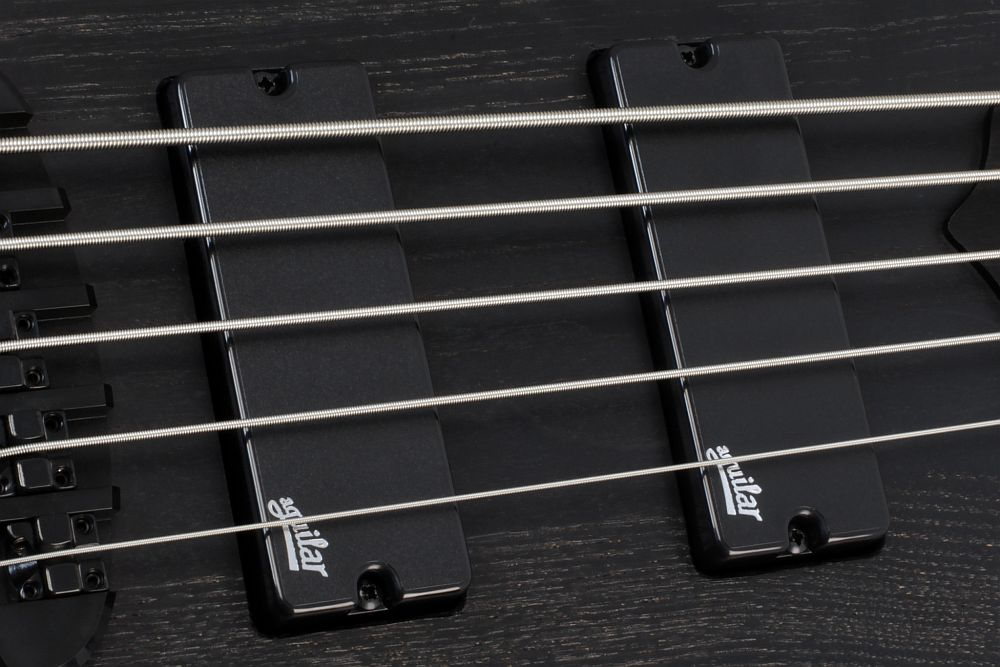 Mayones Slogan 5 Gothic- Master Builder Collection 2013 - Aguilar DCB™ Dual Ceramic Bar Soapbar pickups