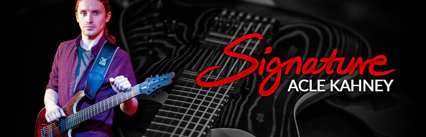 Acle Kahney Signature Guitars