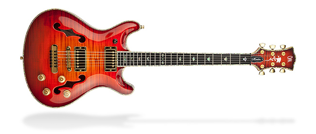 Mayones Guitars & Basses Jazz Series
