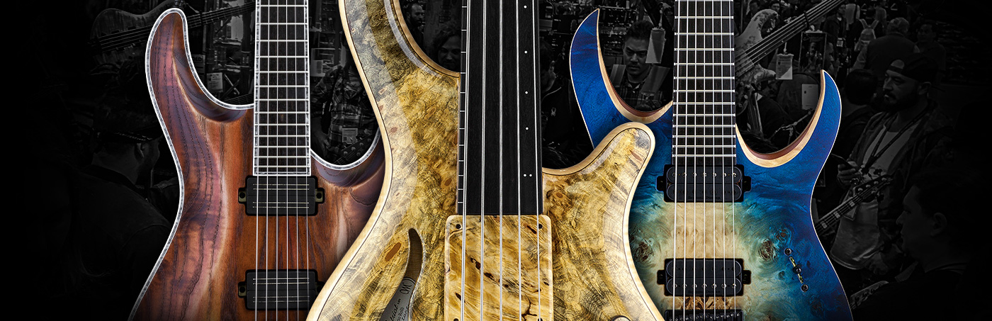 Mayones Guitars & Basses at the Winter Namm 2017 Show