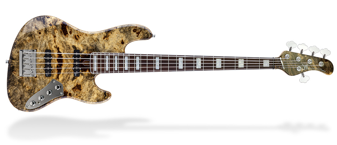 Jabba Custom BB 5 – Buckeye Burl Top