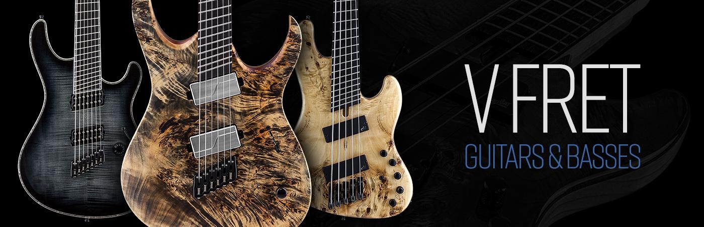 V-FRET - Multiscale Guitars & Basses