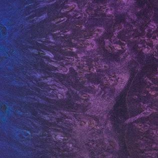 Dirty Purple Blue Burst