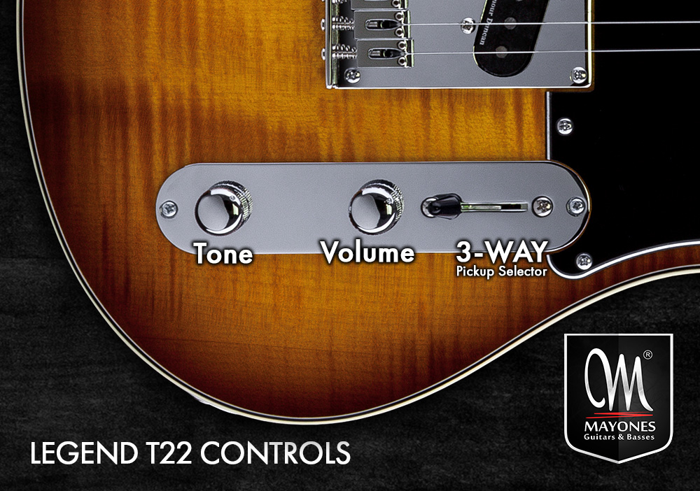 Legend T22 Guitars Control Layout