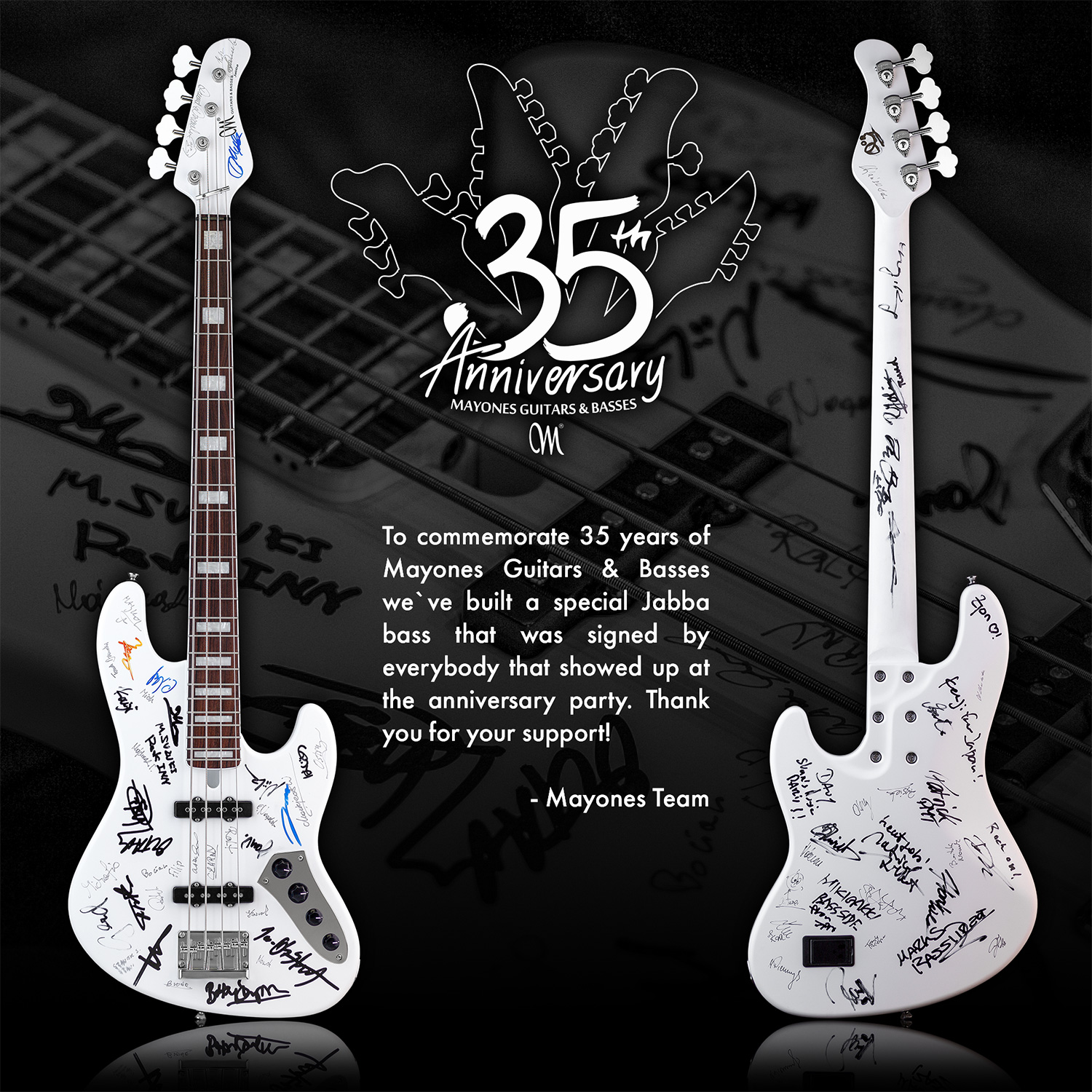 35th Anniversary Party Bass