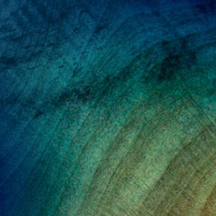 Natural Fade Blue Burst - Buckeye Burl