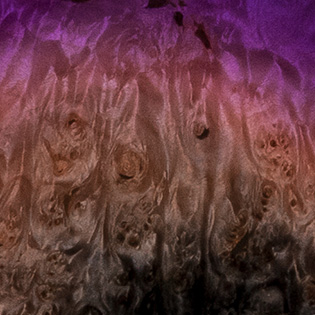Violet Supernova (Burl Maple)