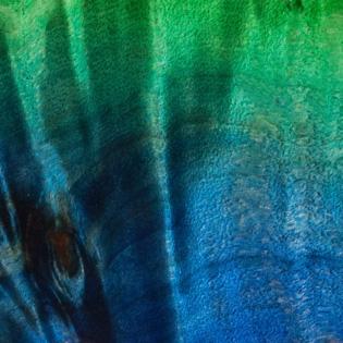 Trans Blue Green Burst