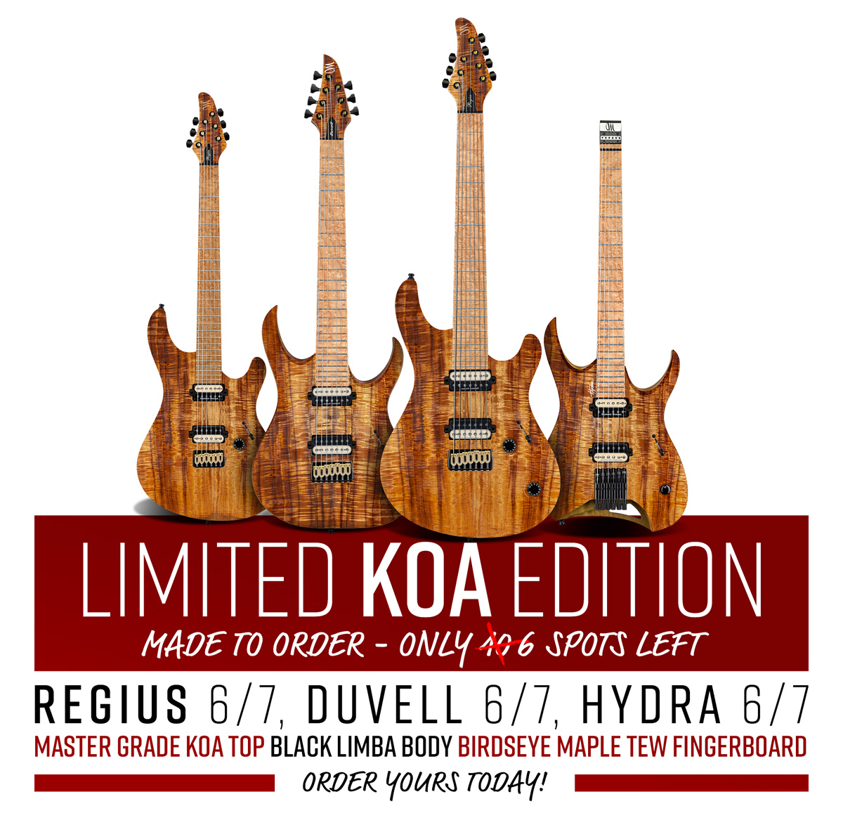 Limited KOA Edition – 2019, only 20 slots worldwide.