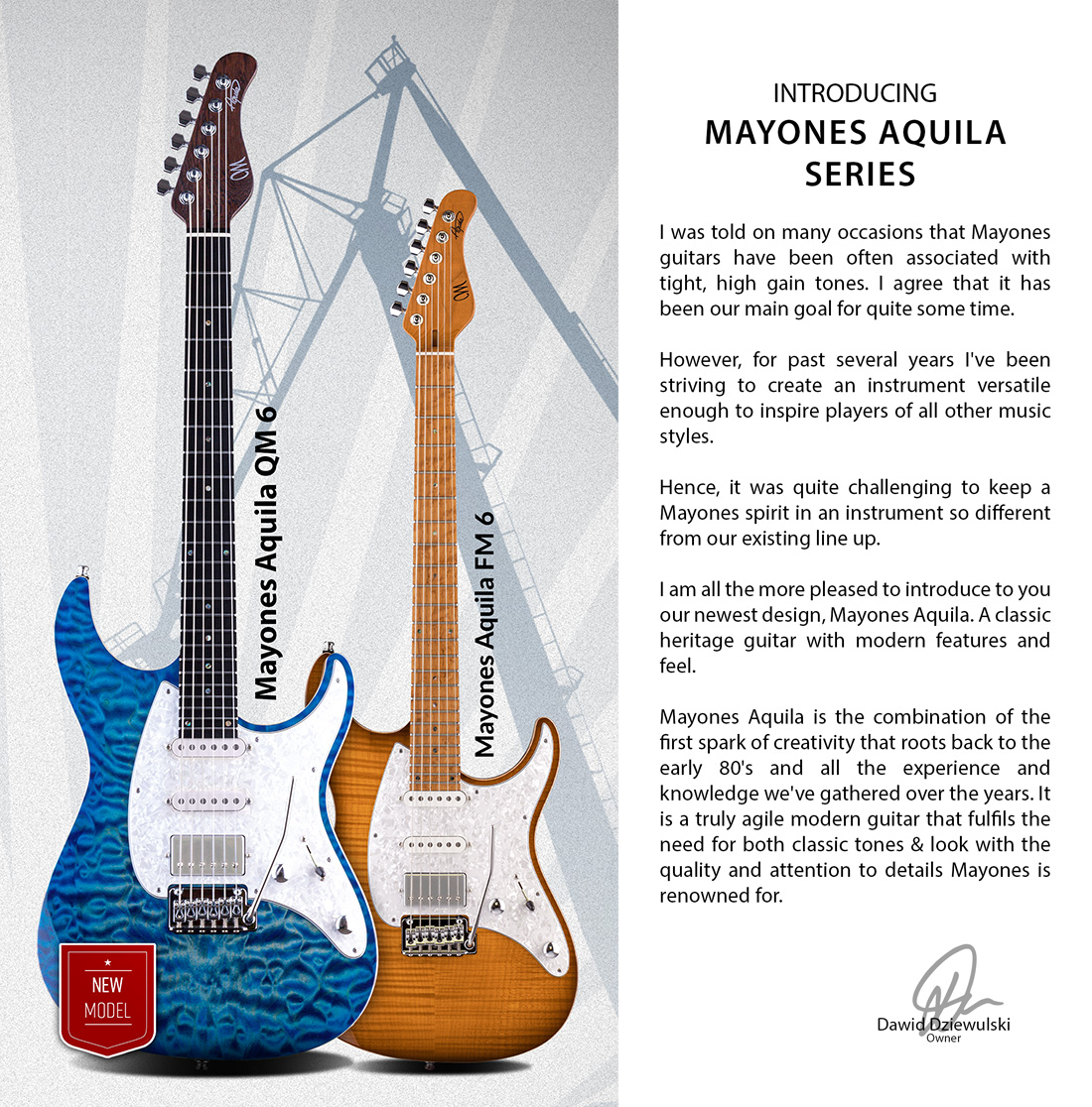 NEW GUITARS & FEATURES FOR 2020 • Mayones Guitars & Basses
