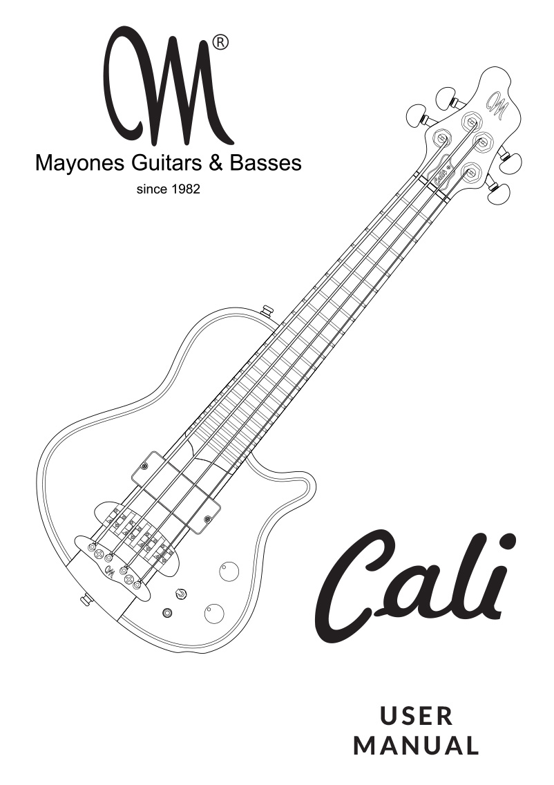 Cali 4 Manual - English