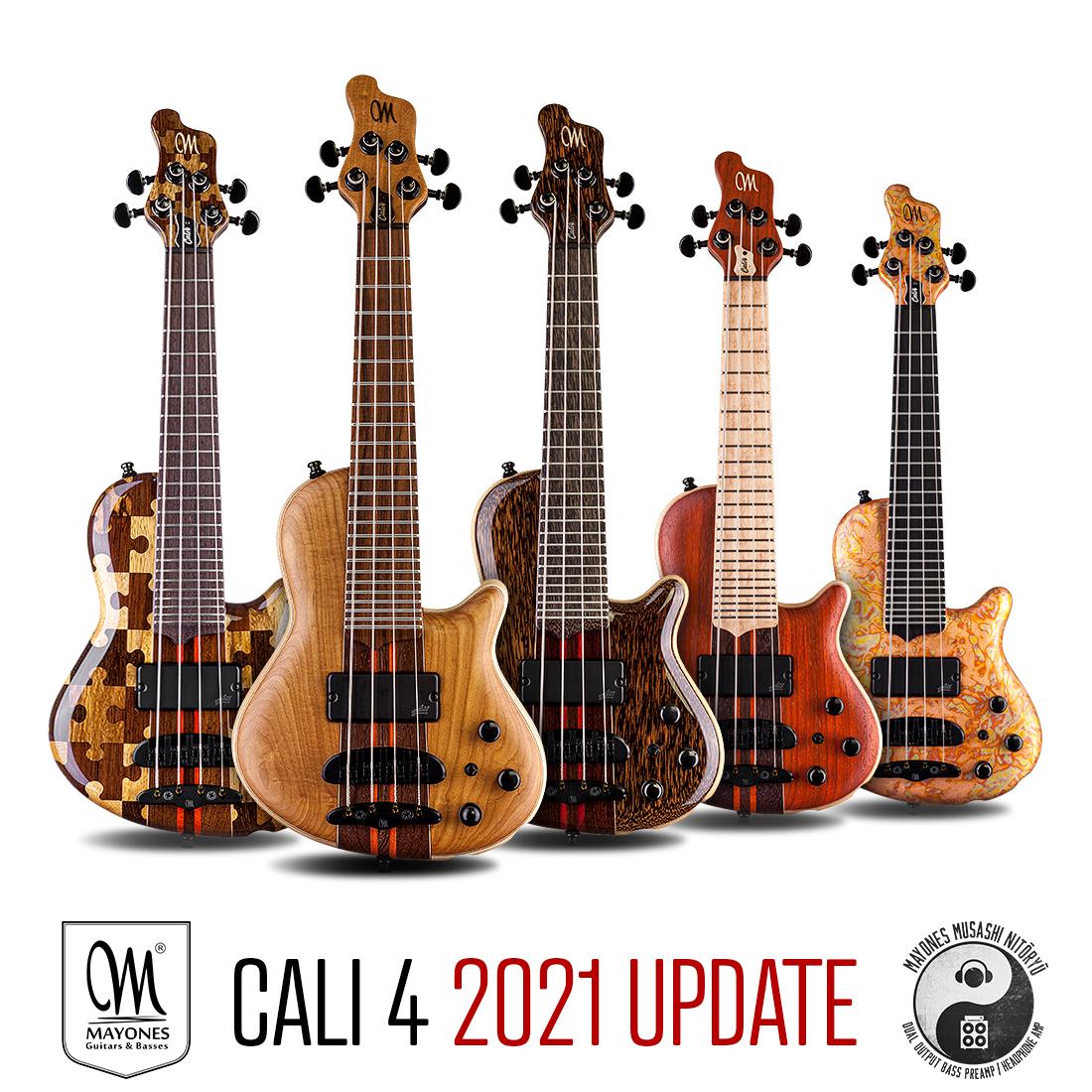 Cali 4 – 2021 Dual Output Custom half-scale bass Upgrade